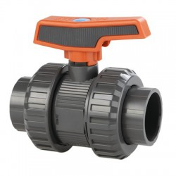PN16 PVC Ball Valves 1 1/2 inch Psi 240