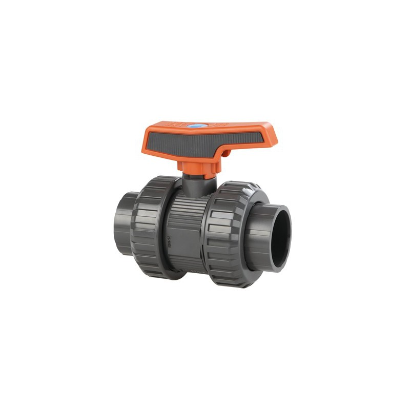 Cepex PVC Kogelafsluiter / Kogelkraan 50 mm PN16
