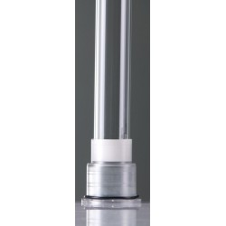 Quartz sleeve for 130 Watt amalgaam Lamp